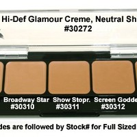 Graftobian HD Glamour Creme Palette Neutral #2 - Combination Sets & Palettes - Makeup