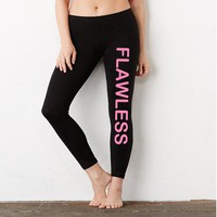 FLAWLESS Ladies' Cotton/Spandex Leggings