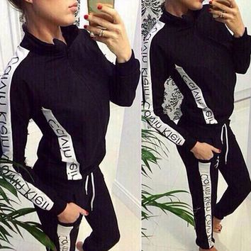 """Calvin"" s female fashion sports suit"