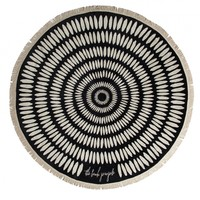 The Tulum Round Towel - The Beach People Vol 2