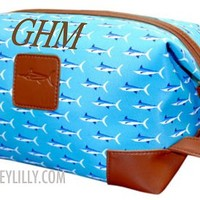 Personalized Men's Marlin Large Toiletry Bag