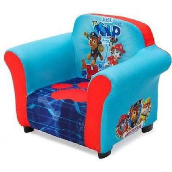 Kids, Children Upholstered Fabric Chair Bedroom Furniture