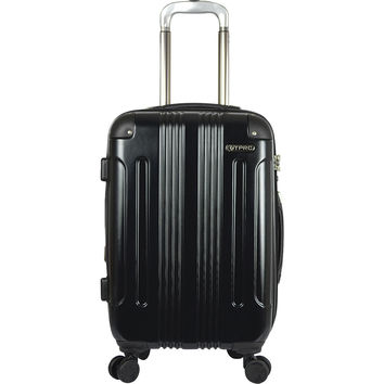 "Travelers Club Luggage Calypso 20"" P.E.T. Expandable Double Spinner Carry-On - eBags.com"