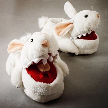 Killer Bunny Slippers at Firebox.com