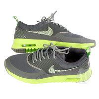 NIKE Air Max Thea 2014 Volt White/Grey/Lime