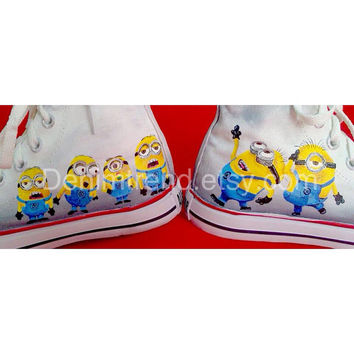 Minion Shoes 3- Converse