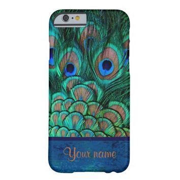 peacock iPhone 6 case