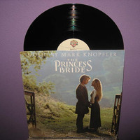 Rare Vinyl Record The Princess Bride Original Soundtrack LP 1987 Mark Knopfler Rob Reiner Comedy