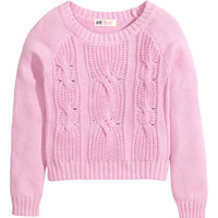 Cable-knit Sweater   Product Detail   H&M