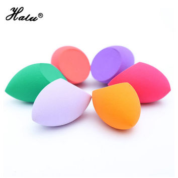 Soft Miracle 8 color Sponge puff pro fundation Makeup Sponge Cosmetic Foundation Puff Flawless Powder Smooth Beauty Egg with box
