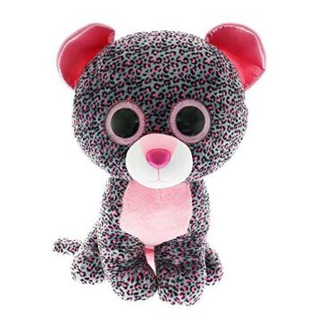 Claire's Accessories Ty Beanie Boos Large Tasha the Leopard Plush Toy