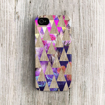 iPhone 5 case Triangle iPhone 5s case Galaxy iPhone 5c case Wood iPhone 4 case Geometric iPhone 4s case unique iphone case hipster rose c223