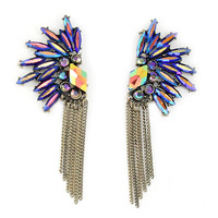 Midnight Venette Earrings