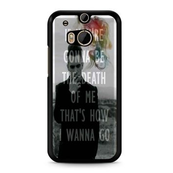 Brendon Urie Panic At The Disco 2 HTC M8 Case