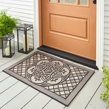 Mohawk Home Doorscapes Estate Venetian Walk Medallion Door Mat (1'11 x 2'11) | Overstock.com Shopping - The Best Deals on Door Mats