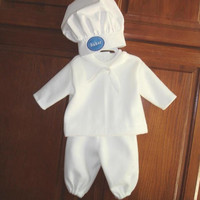 BAKER BOY Halloween Costume for BABY and TODDLERs