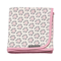 Swaddle Blanket in Pink Posy
