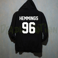 Hemmings Hoodie 5 Seconds of Summer Hoodie Sweatshirt Shirt Sweater T Shirt Unisex - Size S M L XL