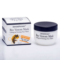 beauteous Bee Venom Mask - Lifting & Firming Face Mask with Geniune New Zealand Bee Venom, 100g