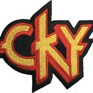 CKY Iron-On Patch Letters Logo