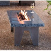 Stone Forest Vesta Fire Table - Outdoor Tables - Modenus Catalog