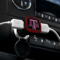 Texas A&M Aggies USB Car Charger