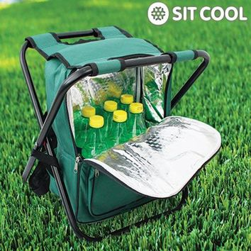 3-in-1 Sit Cool | Folding Chair, Thermal Bag and Rucksack