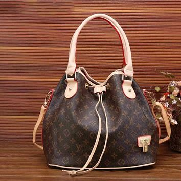 LV Women Shopping Leather Tote Crossbody Satchel Shoulder Bag Handbag Pattern I-LLBPFSH Tagre™
