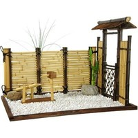 Oriental Furniture Zen Bamboo Mini Garden