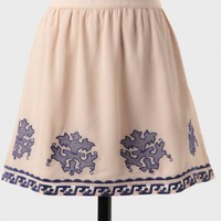 West Bengal Embroidered Skirt