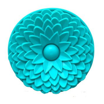 22CM Sunflower silicone cake mold,cake pan, Bread Pie Flan Tart Birthday Party Cake Silicone Mold Pan Bakeware