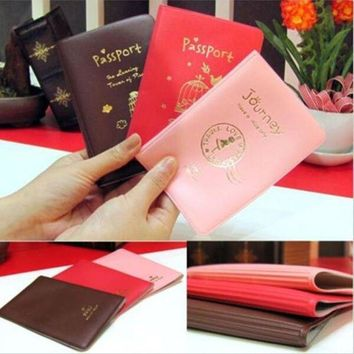 IKCKU62 Holder Credit Card new Clutch case for passport Ticket ID& Document Travel Cover Protector travel accessories passport case
