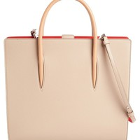 Christian Louboutin Large Paloma Empire Calfskin Leather Tote | Nordstrom