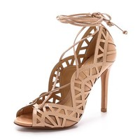 Schutz Dubianna Lace Up Sandals