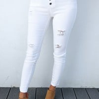 A Must Have Pants: White