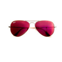 J.Crew Womens Ray-Ban Aviator Sunglasses