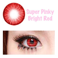 Super Pinky Lens - Bright Red