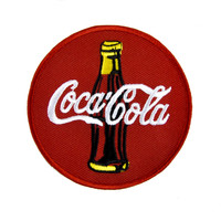 Coca-cola Soda Pop Patch Iron on Applique Alternative Clothing