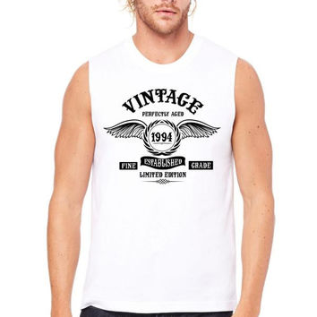 Vintage Perfectly Aged 1994 Muscle Tank