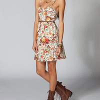 LOTTIE & HOLLIE Belted Floral Bra Cup Dress 211939957 | Dresses | Tillys.com