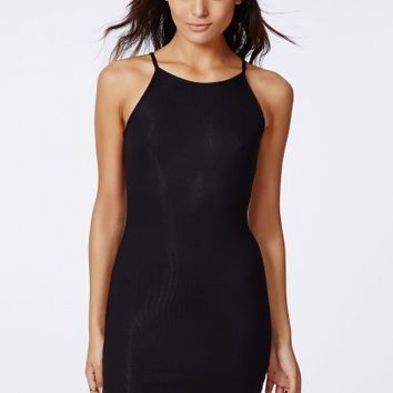 61554bcc1558b4 Missguided - Tessie 90's High Neck Ribbed from MISSGUIDED