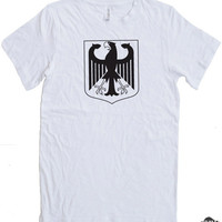 German Crest T-shirt cool shirt retro tees
