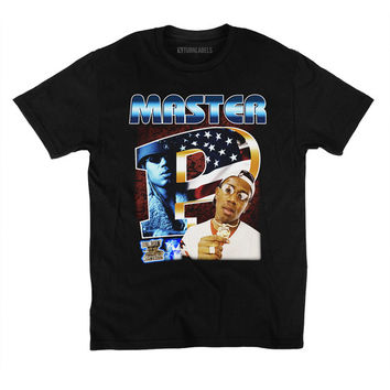 Master P Vintage Inspired T-Shirt Throwback 90's Rap Tee Bout It Bout It Ice Cream Man