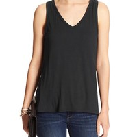 Banana Republic Womens Factory Sleeveless Vee
