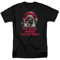 Rocky Horror Picture Show Casting Throne Logo Tshirt