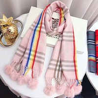 Perfect Burberry Children Wool Scarf Shawl Scarf