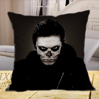 American Horror Story Evan Peters Tate on Square Pillow Cover
