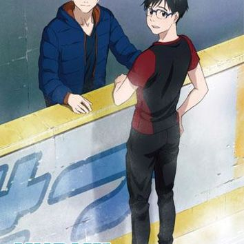Day at the Rink - Fabric Poster - Yuri!!! on Ice