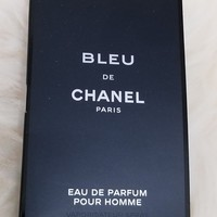 Chanel BLEU de CHANEL for Men Sample Size .06 FL with Chanel Sample Gift Bag