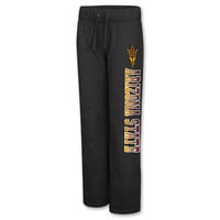 Women's Colosseum Arizona State Sun Devils College Side Screen Print Pants